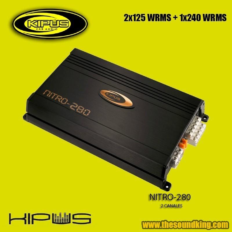Amplificador / Etapa Kipus Nitro-280