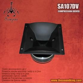 Motor de compresion Scorpion Audio SA107DV