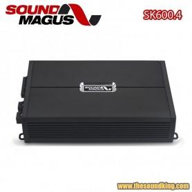 Amplificador Sound Magus SK600.4