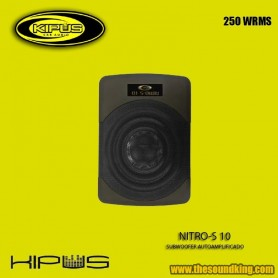Subwoofer Autoamplificado Kipus Nitro-S 10