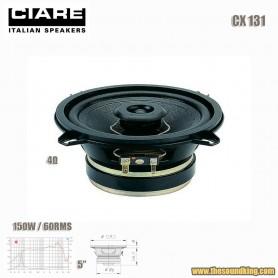 """Altavoz Coaxial 5"""" Ciare CX131"""