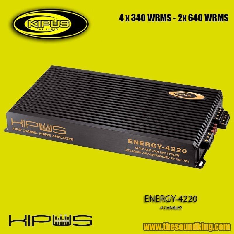 Amplificador / Etapa Kipus Energy 4220
