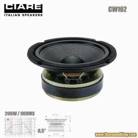 """Altavoz woofer 6,5"""" SPL Ciare CW162"""