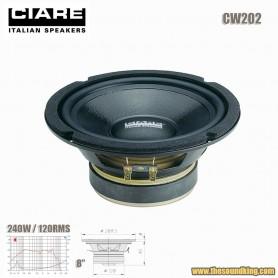 """Altavoz woofer 8"""" SPL Ciare CW202"""