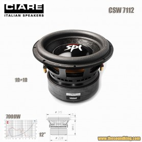 Subwoofer Ciare CSW7112