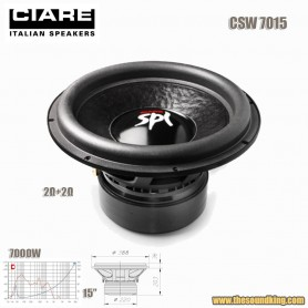 Subwoofer Ciare CSW7015