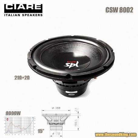 Subwoofer Ciare CSW8000