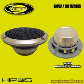 "Altavoz Medio 3,5"" Kipus HQ‐M35 - HI‐END"