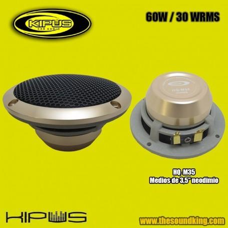 """Altavoz Medio 3,5"""" Kipus HQ‐M35 - HI‐END"""