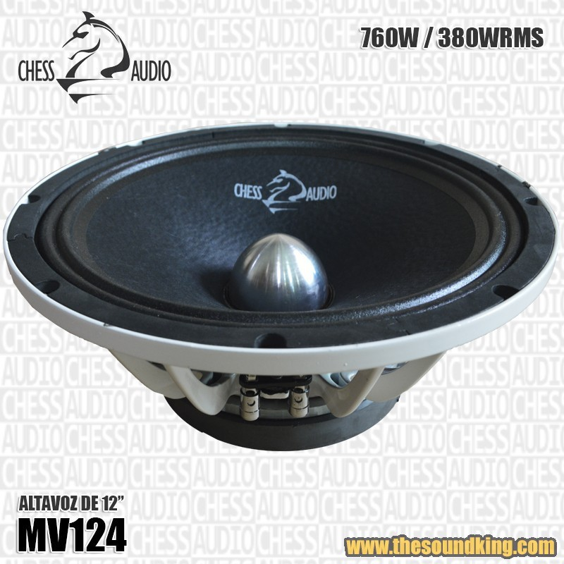 """Altavoz 12"""" Chess Audio MV124"""