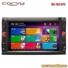 Radio DVD Doble Dim Corvy DD-785 GPS