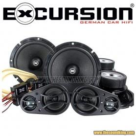 Vias Separadas Excursion SHX 6.3C+dB