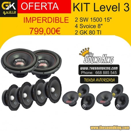 GK Audio Kit Level 3