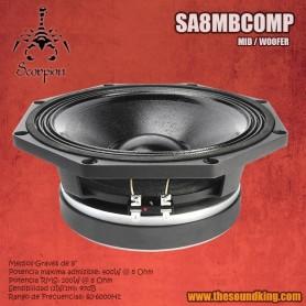 Altavoz Scorpion Audio SA8MBCOMP