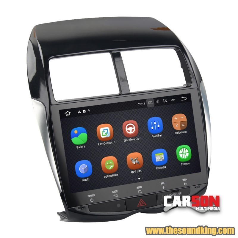 radio android carson p107asx mitsubishi asx the sound king. Black Bedroom Furniture Sets. Home Design Ideas