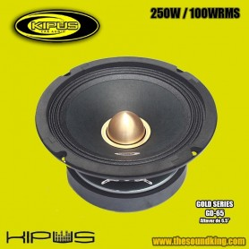 Altavoz Medio KIPUS GD-65 (Gold Series)