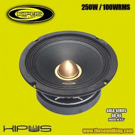 Altavoz Medio KIPUS GD-65 (Gold Series)